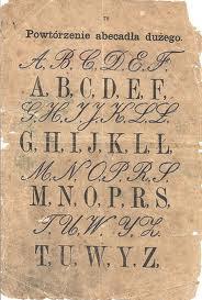 alfabet gotycki