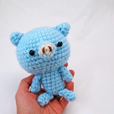 Flying Angel Pig Amigurumi Crochet Pattern : 2000 Free Amigurumi Patterns: Free Amigurumi Crochet ...