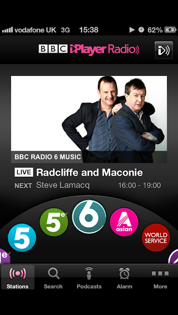 Headphonaught's Nanolog: Loving    the iPhone BBC iPlayer