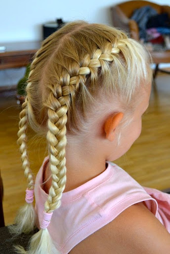 Fantastic 30 Easy Cute Hairstyles For School Girls Be With Style Hairstyles For Men Maxibearus