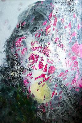 Eponge rouge, 1999 150 x 100 cm, t.m. sur toile