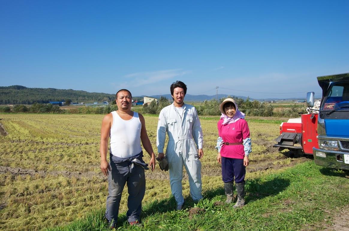 自然米の栽培者の皆さん