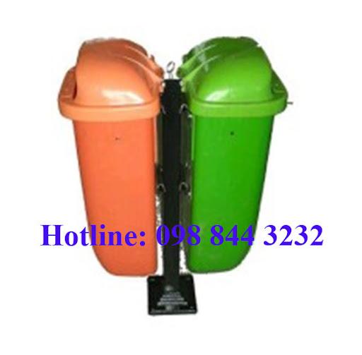 Thùng rác văn phòng, thùng rác công cộng, thùng rác 120, 240, 660 L - giá rẻ nhất