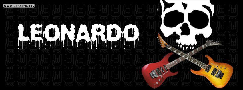 Capas para Facebook Leonardo
