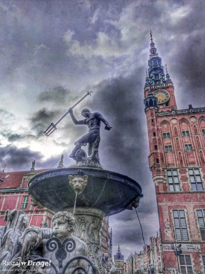 Fontanna Neptuna w Gdańsku