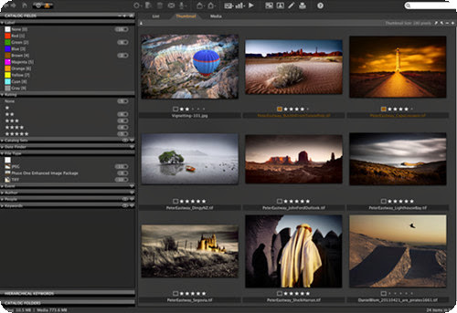 Phase One Media Pro 1.4.2.44 [Multi] - Gestor fotográfico profesional