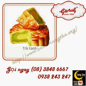 Bánh trung thu Givral Trà xanh