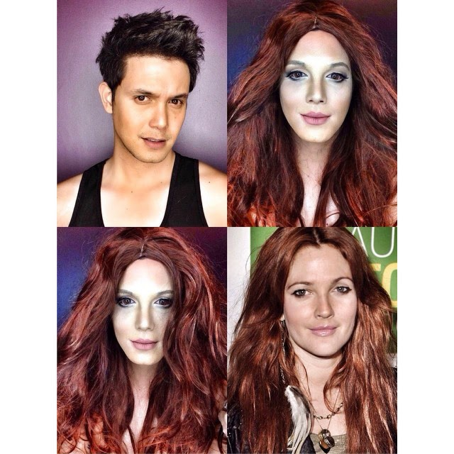 Paolo Ballesteros Makeup Transformations with Pictures 06