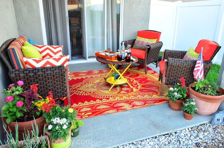 Superior Summer Patio Refresh With @worldmarket Via SewWoodsy.com #SummerFun  #Decorating #Outdoor