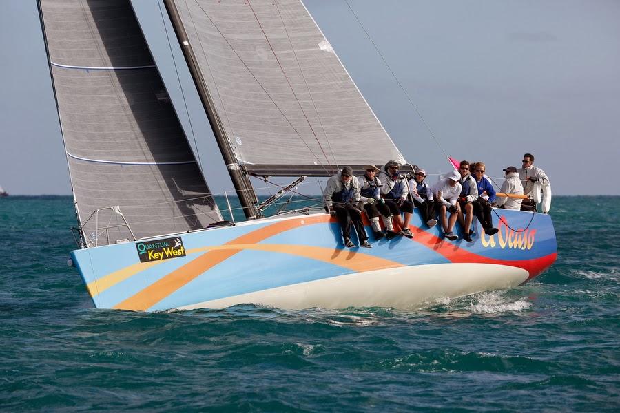 J/122 El Ocaso sailing St Maarten Heineken Regatta