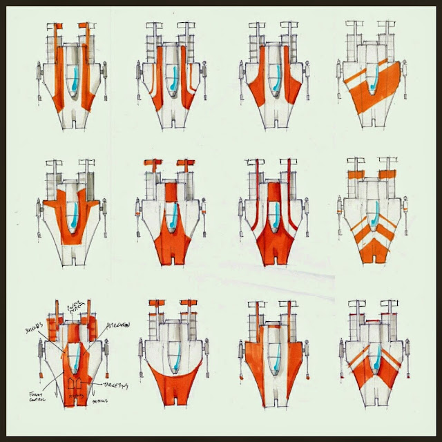 A-Wing variantes de esquemas de color