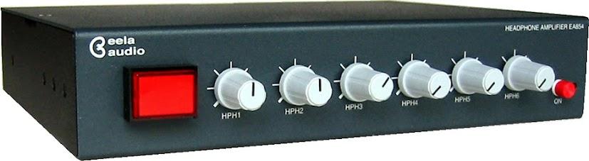 Studio Interface / Headphones Amplifier EA854