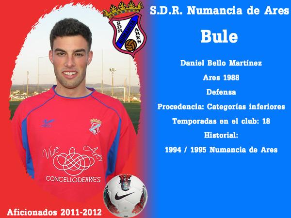 A.D.R. Numanciad de Ares. Bule