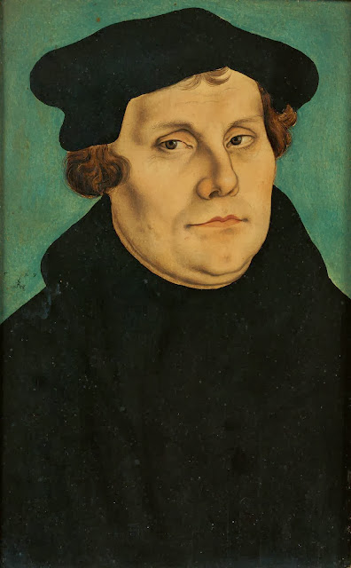 Lucas Cranach the Elder - Portrait of Martin Luther