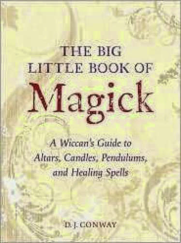 Thelema Review The Big Little Book Of Magick By D J Conway