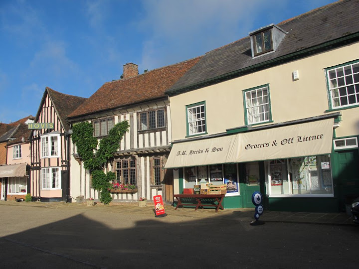 Lavenham - shops in the Town Square