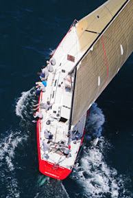 J/145 Radio Flyer sailing upwind