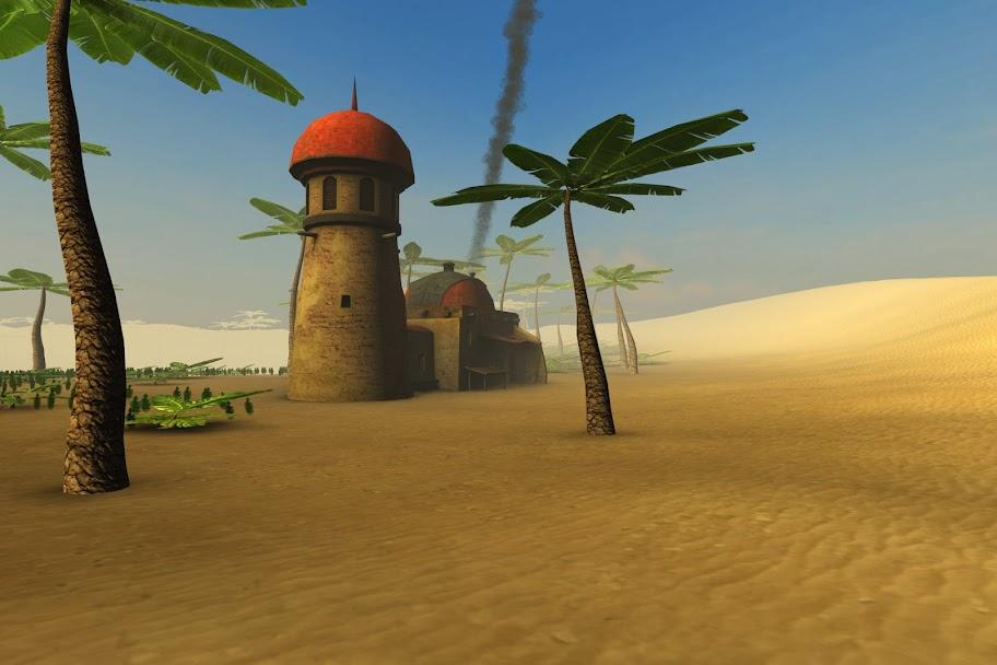 Unity Desert Level