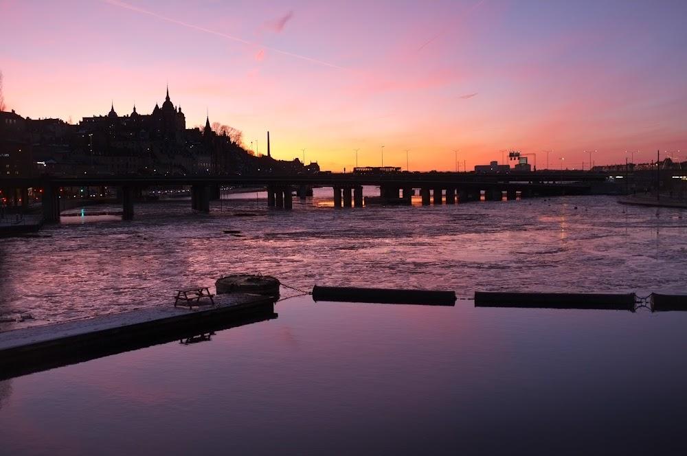 paseo de invierno por Estocolmo