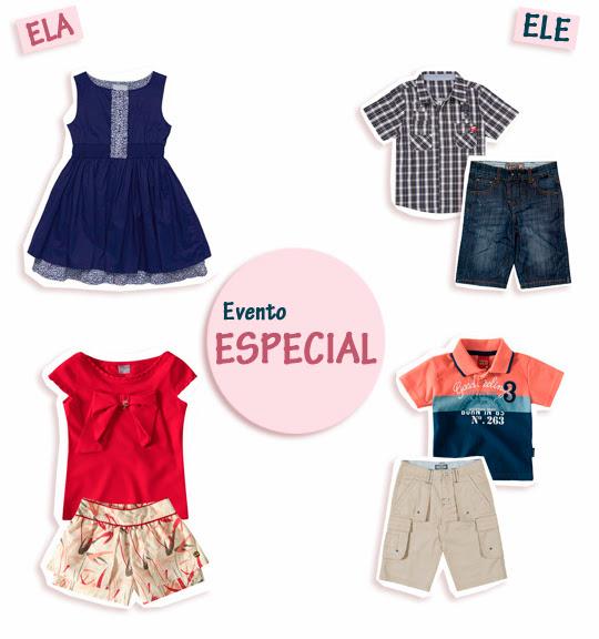Look Infantil: Evento Especial