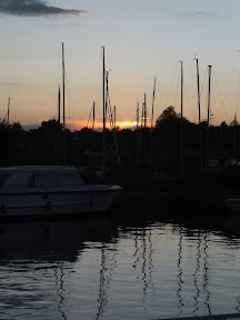 Horning sunset