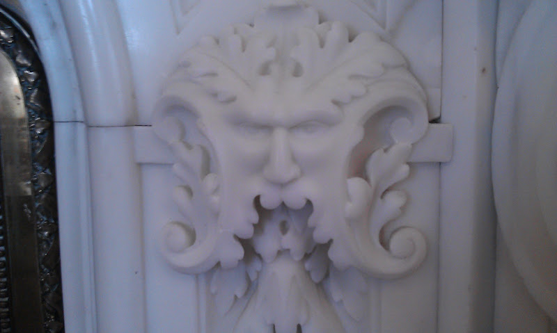 Greenman from Kylemore Abbey