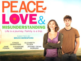 Peace Love And Misunderstanding Poster