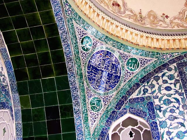 Azulexos de Iznik nunha habitación do harén