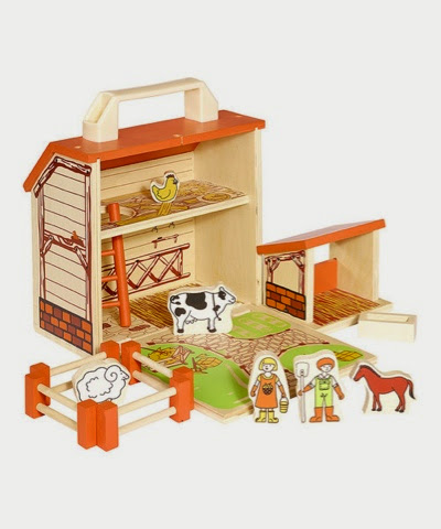 Boxset Barn House Wooden Farm