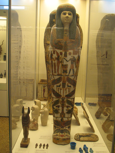 Sala egipcia del Museo Arqueológico Nacional de Atenas
