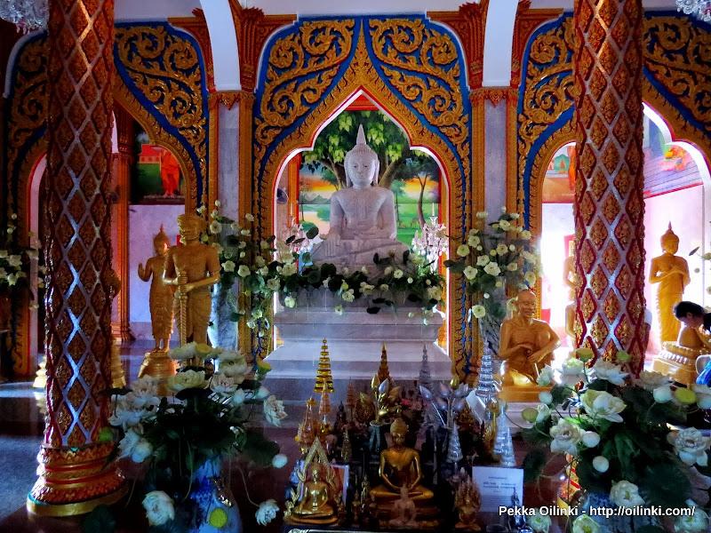 White Buddha, Wat Chalong
