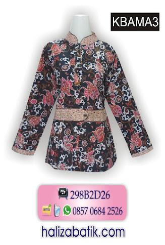 contoh gambar baju batik, model busana wanita, baju murah online