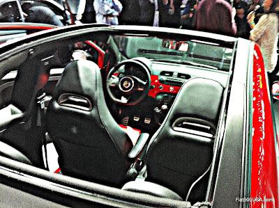 2013 Fiat 500c Abarth Cabrio interior