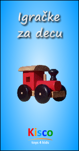 Nove drvene igračke za decu