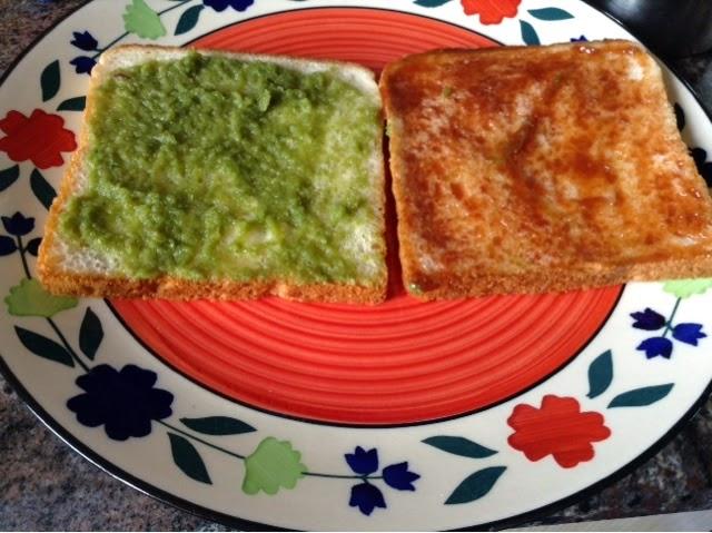 how to make a healthy veg sandwich