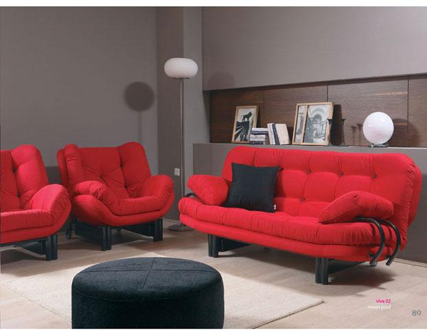 renkli çok modern ve yeni ürün bellona kırmızı koltuk modelleri ...