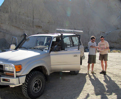 Our Toyota Diesel LandCruiser in Anza Borrego