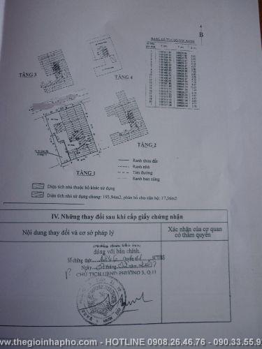 Bán nhà khu Cư Xá Lữ Gia , Quận 11 giá 1, 58 tỷ - NT57
