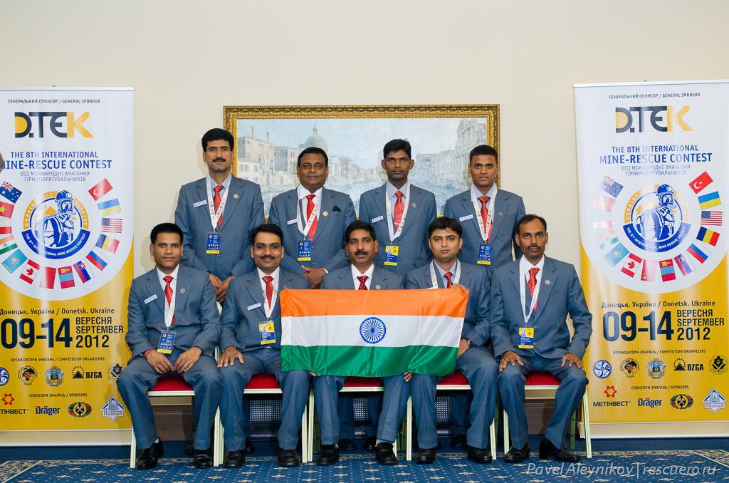 Команда Индии
