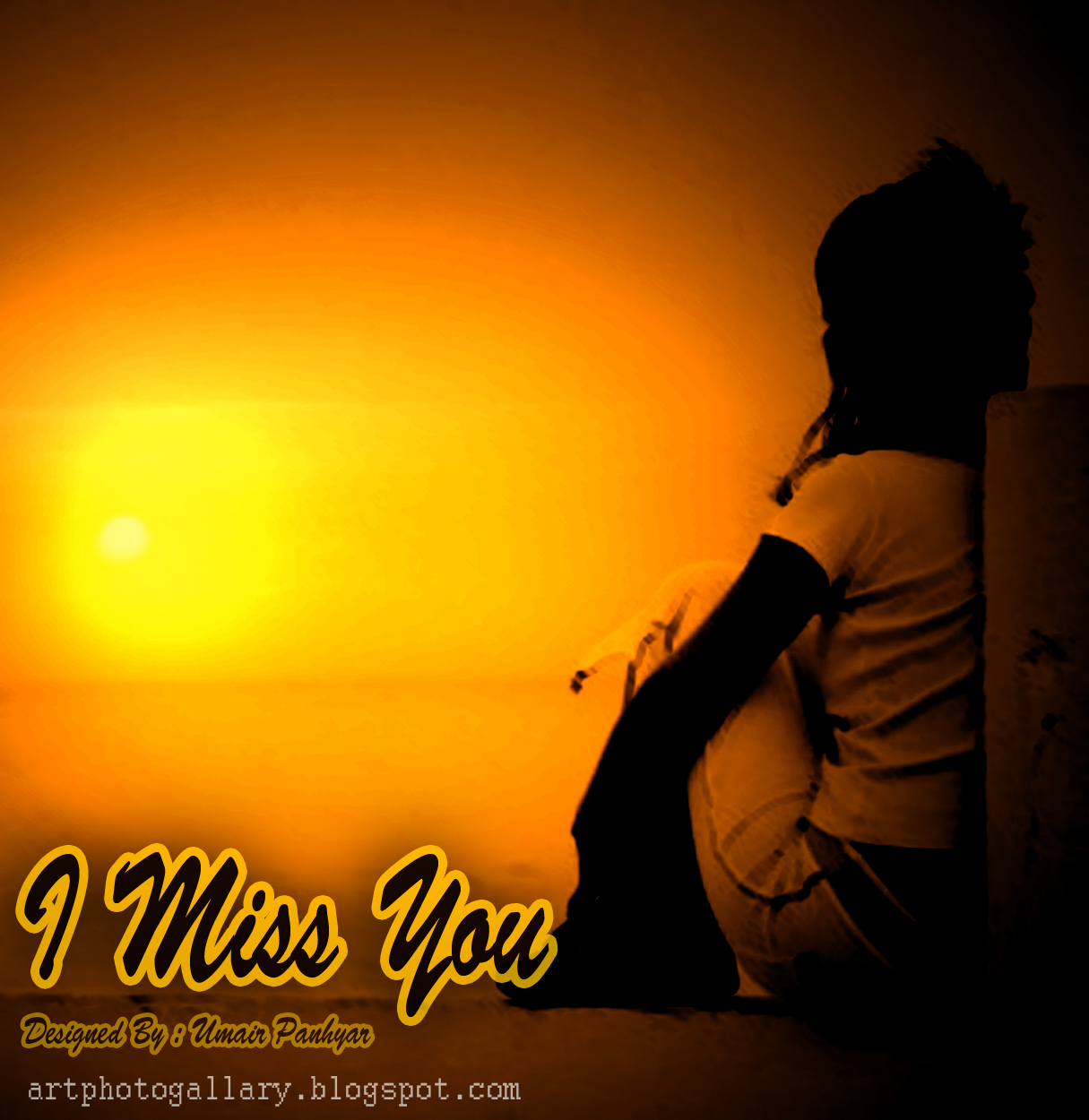 I Miss You Art Photo Gallery