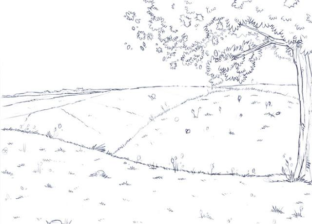 Lilou Elliott illustration jeunesse livre mer peche requin barque provence decor paysage colline herbe champs histoire grand-pere blog blogger width=