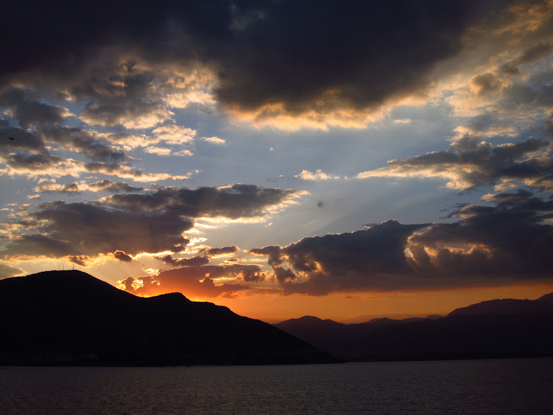 Sunset on Lake Eğirdir