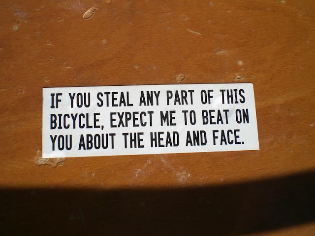 to catch a bike thief
