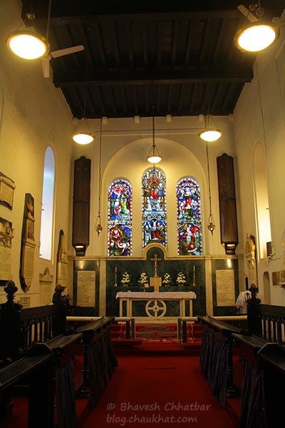 Altar of Saint Mary's Church, Pune