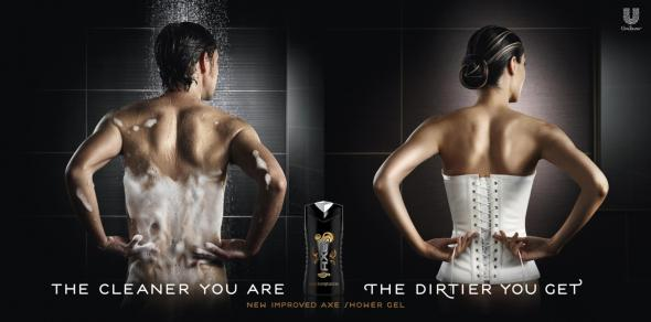 The Cleaner You Are The Dirtier You Get — Of Course It's An AXE Ad