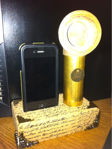 My Life As I Know It: DIY iPhone charging dock