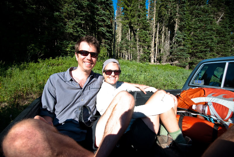Alpine Lakes Wilderness: Tuck Lake trail..