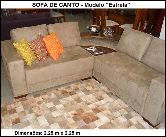 sofá de canto com barzinho