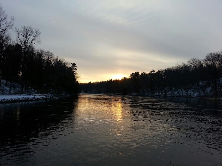 Muskegon River Winter Steelhead Fishing