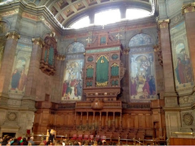 McEwan Hall interior Edinburgh University